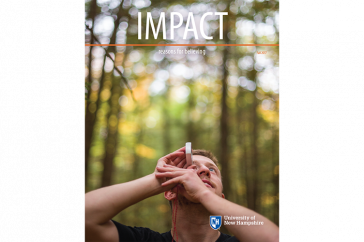 UNH IMPACT Fall 2017 cover