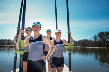 UNH rowers