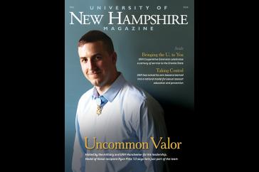 UNH Magazine Fall 2014 cover
