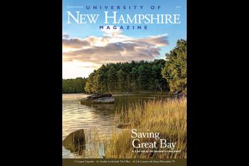 UNH Magazine Spring 2014 cover
