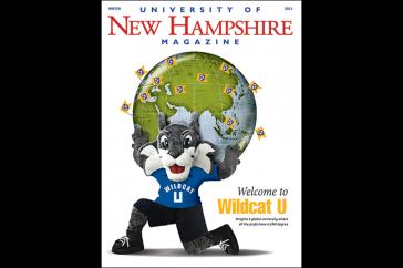 UNH Magazine Winter 2015 cover