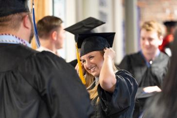 A UNH Manchester graduate, 2018