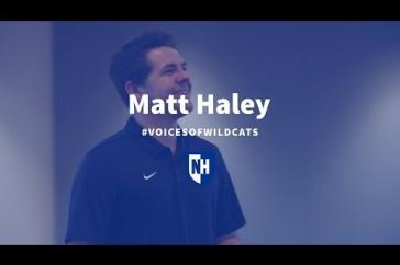 UNH Voices Of Wildcats Matt Haley '19