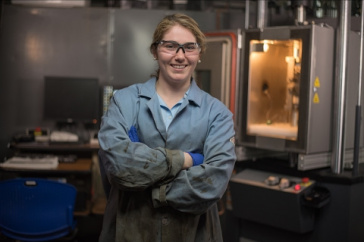 "UNH Junior Named a ""New Face"" in Engineering"