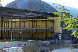 Hamel Rec Center construction