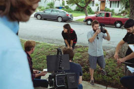 UNH alumna Erica Tamposi '14 making the film Extended Release