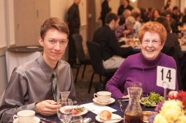 Attendees of UNH's Great Works luncheon