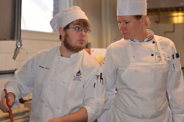 UNH Thompson School student and chef