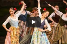 UNH dancers performing Don Quixote