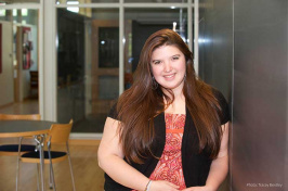 Gabriela Aguilera, UNH student and Fulbright fellow
