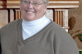 The late Barbara Arrington, former UNH professor