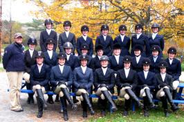 UNH equestrian team