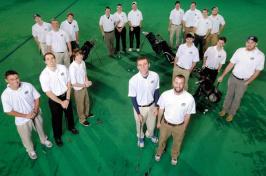 UNH golf club
