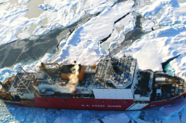 U.S. Coast Guard Cutter Healy in the Arctic