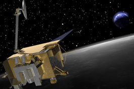 Lunar Reconnaissance Orbiter at the moon