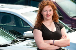mary callaghan at car dealership