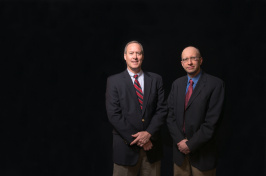 UNH professors Andy Smith and Dante Scala
