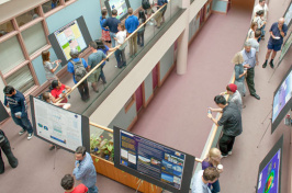 students participating in project smart