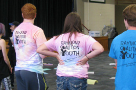 Participants of Raymond Youth Coalition