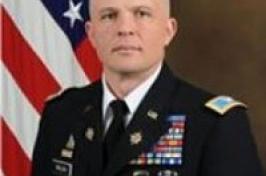 U.S. Army Col. Scott Dullea '89