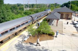 Train station at UNH