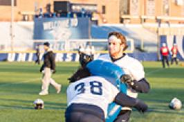 UNH football practice
