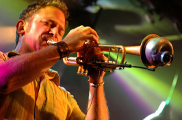 taylor haskins playing the trumpet
