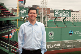 Red Sox director of special projects Fred Olsen '97