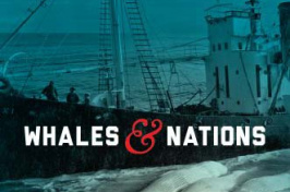 """""""whales and nations' book cover"""