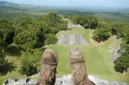 UNH student's photo in Belize