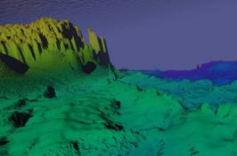 digital illustration of the seafloor (Image: Glen Watson)