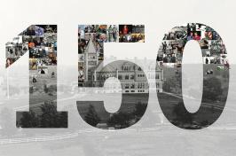 UNH 150th Anniversary photo collage