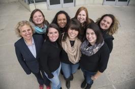 first class of online MSW graduates