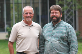 CEPS professors Jean Benoit and Joel Johnson