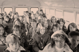 segregated school bus