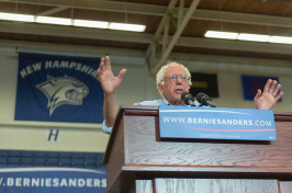 Bernie Sanders at UNH