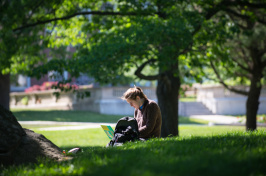 UNH campus spring 2016
