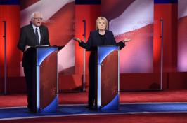 Democratic presidential debate at UNH 2016