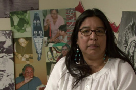 Esther Belin is a noted Native American poet and artist, but she is not in Wikipedia. (Smithsonian NMAI/YouTube)
