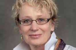 UNH associate professor Kerryellen Vroman