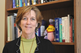 Cindy Wolz, a clinical associate professor of nursing