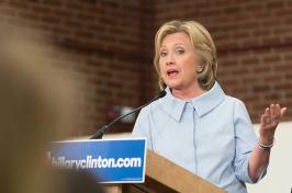 Hillary Clinton at UNH