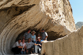 UNH faculty scholars in Turkey