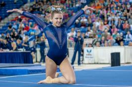 UNH gymnast