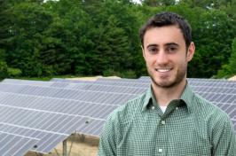 UNH graduate student Henry Herndon