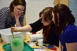 New Hampshire educators practice the inquiry teaching method.
