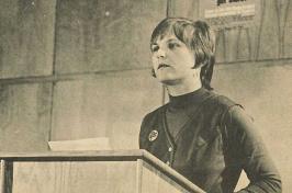 Linda Jenness at UNH