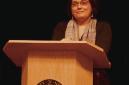 UNH history professor Julia Rodriguez