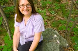 UNH Cooperative Extension forester Karen Bennett