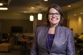 UNH professor Katie Edwards